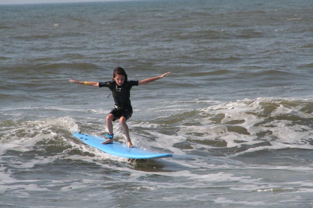 addie surfing
