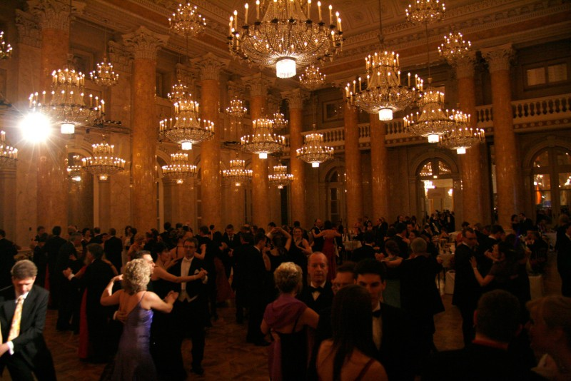 Charity ball 'dancer against cancer' at the Hofburg in Vienna