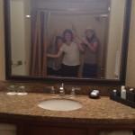 epic bathroom selfie