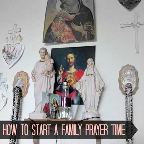 family prayer image