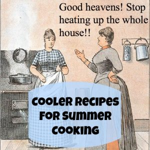 summer cooking button