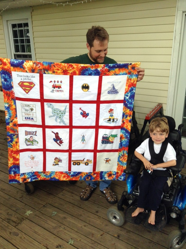 teddy's quilt