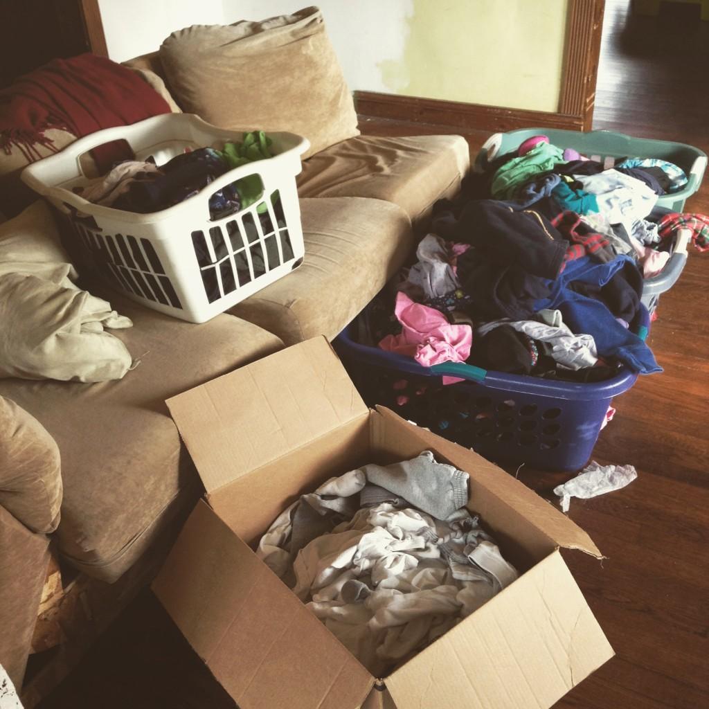 lots o'laundry