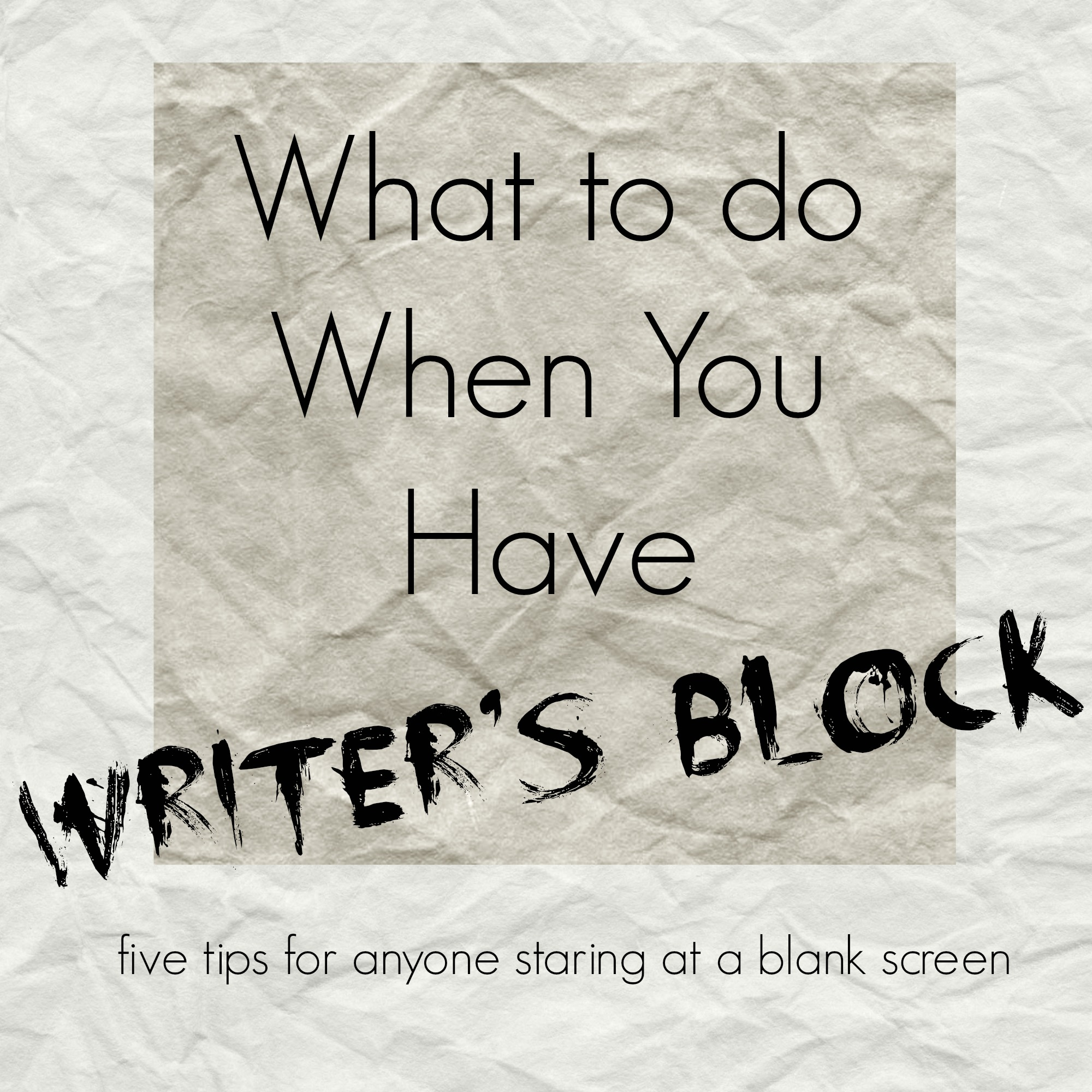 things to help with writers block 5 things to help with writer's block a few ways to find inspiration meredith morrison  comments writer's block is something everyone deals with at some point i .