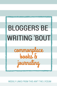 BLOGGERS BE WRITING 'BOUT (2)