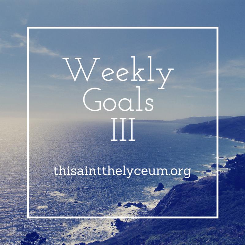 WeeklyGoals