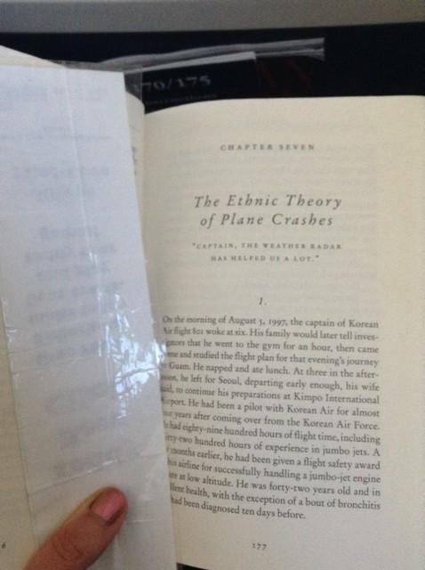 plane crash chapter