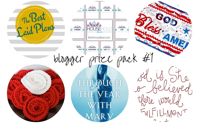 Blogger Prize Pack 1