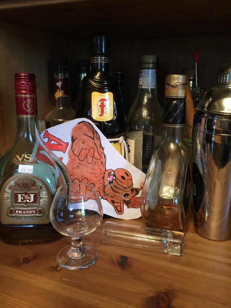 alf and booze
