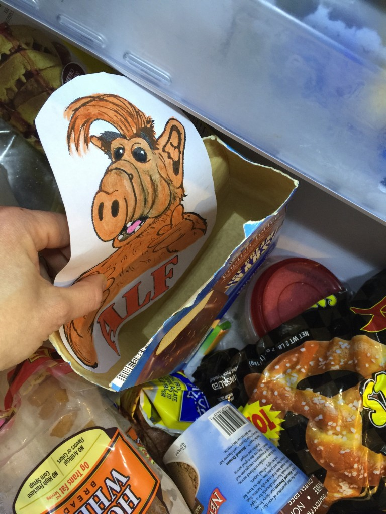 alf in the freezer