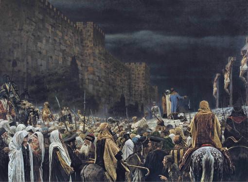 Crucifixion_by_the_Romans_(Vasily_Vereshchagin_-_1887)