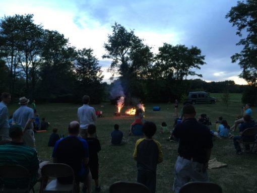 st johns bonfire