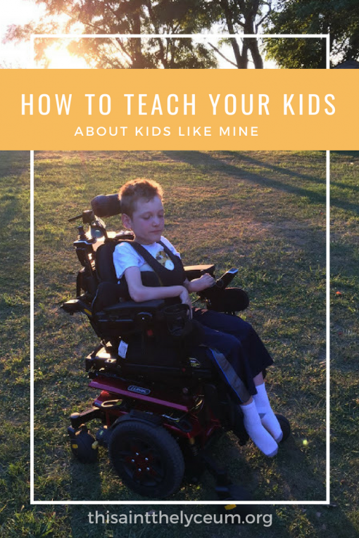 How to Teach Your Kids About Kids Like Mine – This Ain't The Lyceum
